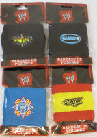 WWE WORLD WESTLING PARTY PACK - 4 Wristbands - 32 Badges - 1 Watch