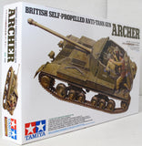 Tamiya 1:35 35356 British Self Propelled Anti Tank Gun Archer Military Model Kit