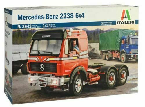 Italeri 1:24 3943  Mercedes-Benz 2238 6 x 4 Model Truck Kit