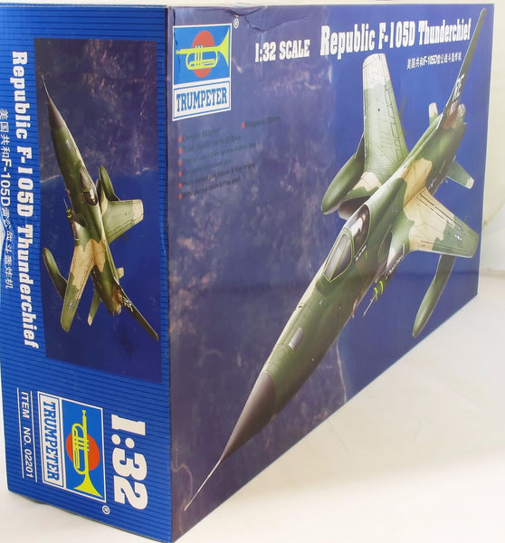 Trumpeter 1:32 02201 F-105D Thunderchief Model Aircraft Kit