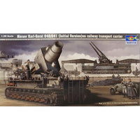 Trumpeter 00208 1:35 Morser Karl-Gerat 040/041 Railway Tra Model Military Kit