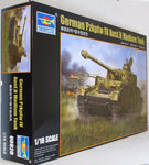 Trumpeter 1:16 00920 PzKpfw IV Ausf H German Medium Tank Tank Military Model Kit