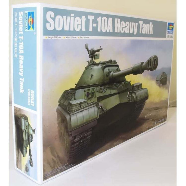 Trumpeter 1:35 05547 Soviet T-10A Heavy Tank Model Military Kit