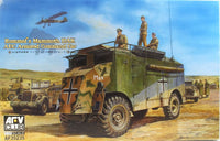AFV Club 1:35 35235 Rommel's Mammoth DAK AEC Armoured Vehicle Model Military Kit