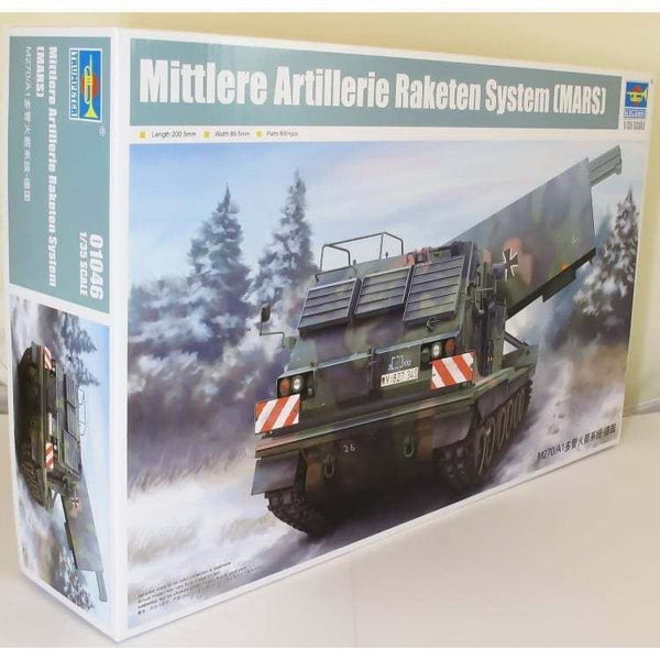 Trumpeter 01046 1:35 Multiple Launch Rocket System - Germany Military Model