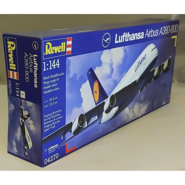 "Revell 1:144 04270 Airbus A380-800 ""Lufthansa"" Model Aircraft Kit"