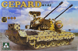 Takom 1:35 02044 Bundeswehr Flakpanzer 1 Gepard SPAAG A1/A2 2 Model Military Kit