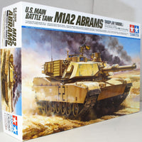 Tamiya 1:16 36212 U.S. Main Battle Tank M1A2 Abrams Military Model Kit