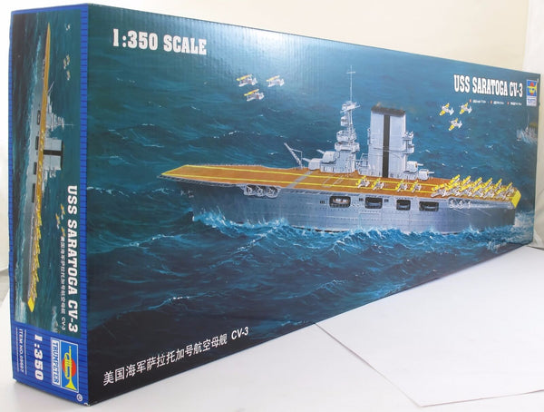 Trumpeter 1:350 05607 USS Saratoga CV-3 Model Ship Kit