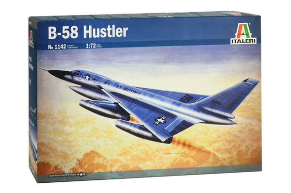 Italeri 1:72 1142 B-58 Hustler Model Aircraft Kit