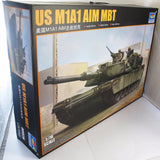 Trumpeter 1:16 TRU 00926 US M1A1 Abrams AIM MBT Military Model Kit