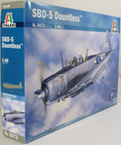 Italeri 1:48 2673 SBD-5 Dauntless Model Aircraft Kit
