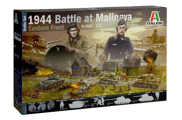 Italeri 1:72 6182 1944 Battle at Malinava Eastern Front Battle Set kit