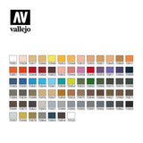 Vallejo 70175 Model Colour Basic Combinations 72 Colour Acrilic Paint Set