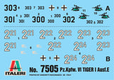 Italeri 1:72 6116 Operation Cobra Battle Set Military Model kit