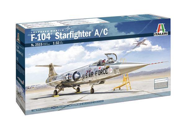 Italeri 1:32 2515 F-104 Starfighter A/c Model Aircraft Kit