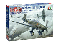 Italeri 1:48 2807 Junkers JU-87B Stuka Model Aircraft Kit