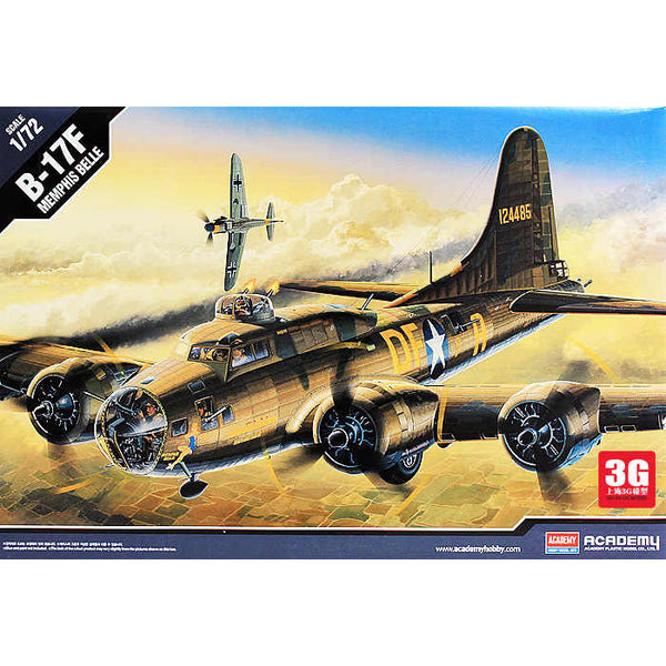 Academy 1:72 12495 B-17F Memphis Belle Model Aircraft Kit