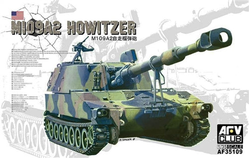AFV Club 1:35 35109 M109A2 Howitzer Model Military Kit