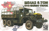 AFV Club 1:35 35300 M54A2 5ton 6x6 Cargo Truck Model Military Kit