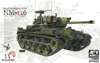 AFV Club 1:35 35S82 NM-116 Royal Norwegian Army Military Model Kit
