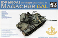 AFV Club 1:35 35S92 IDF M60A1 Magach 6B GAL Model Military Kit