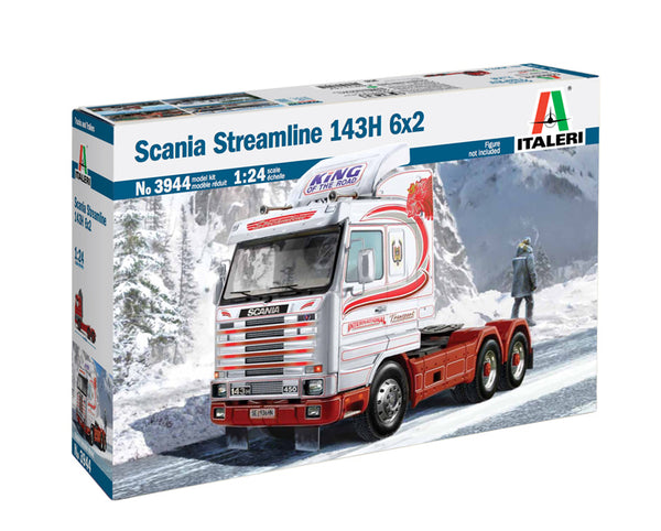 Italeri 1:24 3944 Scania R400 Streamline 143H 6x2 Model Truck Kit