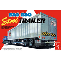 AMT 1:25 1164 Big Rig Semi Trailer Model Truck Kit