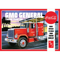 AMT 1:25 1179 1976 GMC General Semi Tractor - Coca-Cola Model Truck Kit