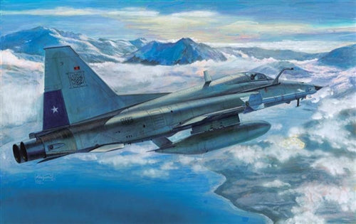 AFV Club 1:48 48S02 F-5E Tiger III Chilean & Morocco Air Forces Model Aircraft Kit
