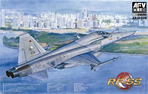 AFV Club 1:48 48S08 RF-5S Tigereye Singapore Air Force Model Aircraft Kit