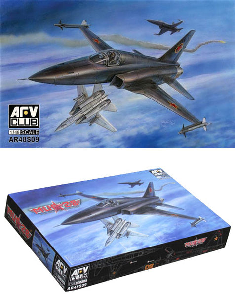 AFV Club 1:48 48S09 MiG-28 & US Navy F-5E Air-Raider Model Aircraft Kit