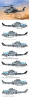 Academy 1:35 12127 USMC AH-1Z Shark Mouth Viper Model Aircraft Kit