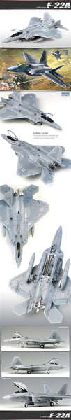 Academy 1:48 12212 F-22 Raptor Model Aircraft Kit