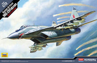 Academy 1:72 12552 Russian Air Force MiG-29 Fulcrum Model Aircraft Kit
