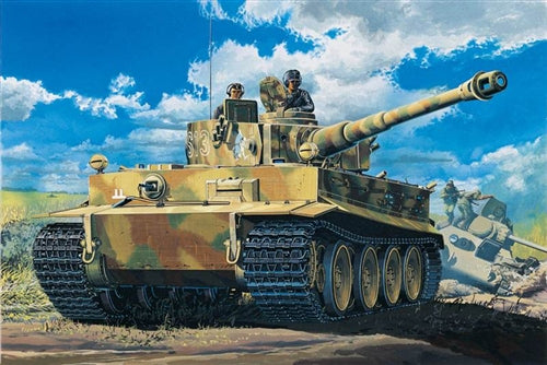 Academy 1:35 13239 Tiger 1 early version Model Military Kit