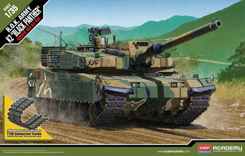 Academy 1:35 13511 ROK Army K-2 Black Panther Model Military Kit