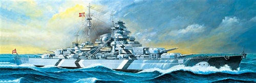 Academy 1:350 14109 Bismarck Model Ship Kit