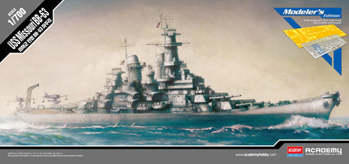 Academy 1:700 14223 USS Missouri BB-63 Modeller's Edition Model Ship Kit