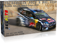 Belkits 1:24 011 Volkswagen Polo R WRC 2016 Ogier /Latvala /Mikkelsen #1 Model Car kit