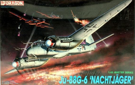 "Dragon 1:48 5509 Junkers Ju 88 G-6 ""Nachtjäger"" Model Aircraft Kit"