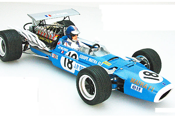 Ebbro 1:12 E13001 MATRA MS11 BRITISH GP 1968 F1 Model Car Kit