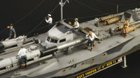 Italeri 1:35 5624 British MTB 74 Vosper Motor Torpedo Boat with Crew Model Ship