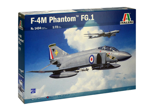 "Italeri 1:72 1434 Mc-Donnell Douglas ""Phantom"" FGR.1 Model Aircraft Kit"