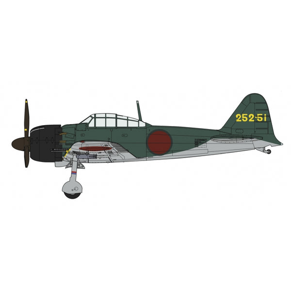 Hasegawa 1:32 08257 A6M5C Zero Fighter  Type 52 Hei 252Nd Flying Group Model Aircraft Kit