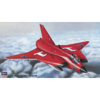 Hasegawa 1:72 HBP101 J-35F DRAKEN Red Dragon Model Aircraft Kit