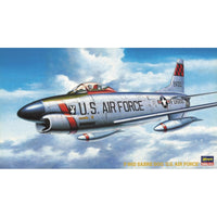 Hasegawa 1:72 BP5 F-86D Sabre Dog US Air Force Model Aircraft Kit
