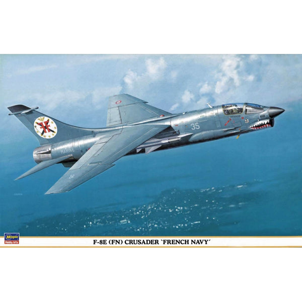 Hasegawa 1:48 09514 F-8E 'FN' Crusader 'French Navy' Model Aircraft Kit