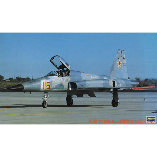 Hasegawa 1:32 HST16 F-5E Tiger II with Shark Nose Model Aircraft Kit