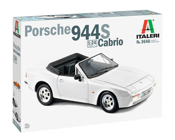 Italeri 1:24 3646 Porsche 944 S Cabrio Model Car kit